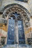 Window of Rosslyn Chapel. Royalty Free Stock Photo