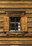 Window in russian tradition royalty free stock images