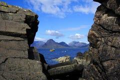 Free Window S Rocks Sea Royalty Free Stock Image - 6929956