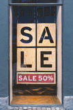 Window For sale sign Stock Images