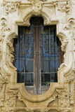 A window at the San Jose mission. In San Antonio Royalty Free Stock Photography