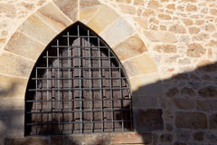 Window in Santillana del Mar Stock Images
