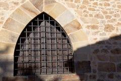Window in Santillana del Mar stock images