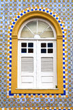 Window sao luis of maranhao Stock Photography