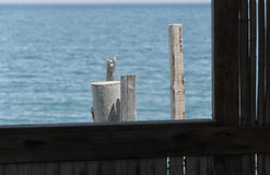 Window on the sea Royalty Free Stock Image