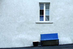 Window and Seat Series. Window and Seat on a Skewed Floor Royalty Free Stock Image