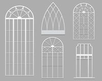 Window set Royalty Free Stock Image