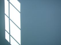 Window shadow on wall Royalty Free Stock Photos