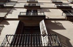 Window shadows Royalty Free Stock Photo