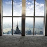 Window of Shanghai Stock Photos