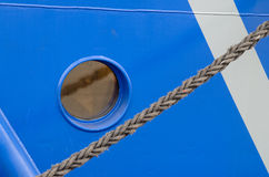 A window of the ship Royalty Free Stock Photography