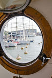 Window of the ship Royalty Free Stock Photos