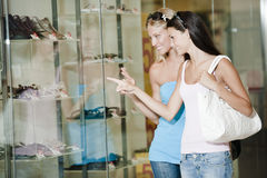Window shopping Stock Image