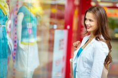 Window-shopping Stock Photo