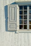 Window shutter stock image
