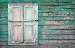 Window shutters closed Royalty Free Stock Photos