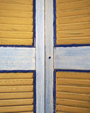 Window shutters closeup Royalty Free Stock Photos