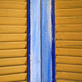 Window shutters closeup Royalty Free Stock Photography