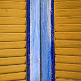 Window shutters closeup colorful background Royalty Free Stock Photos