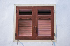 Window shutters Stock Image