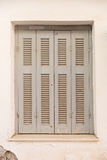 Window with shutters Royalty Free Stock Images