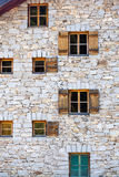 Window shutters Royalty Free Stock Images