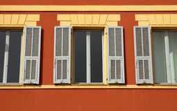 Window and shutters Royalty Free Stock Photos
