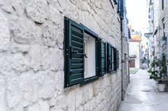 Window with shutters Stock Photos