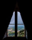 Window on Sintra Stock Images