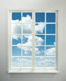Window and Sky royalty free stock image