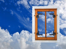 Window in the sky Stock Photos