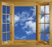 Window and sky Royalty Free Stock Photos