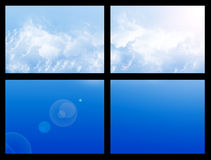 Window sky Stock Image