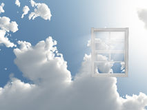 Window in sky Stock Photos