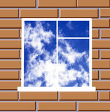 Window skyward Stock Photos