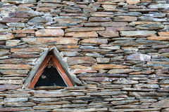 WIndow in a slate roof Royalty Free Stock Images