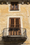 Window in a small Italian town Stock Images