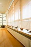 Window in spa resort Stock Photo