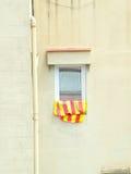 Window on spanish building Royalty Free Stock Photos