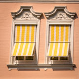 Window in square format Stock Image