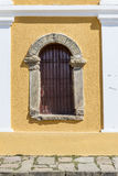 Window with stone frame. 1789 - 1912 Royalty Free Stock Images