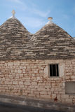 Window in Stone Trullo Royalty Free Stock Photography