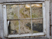 Window and Stone Wall Stock Photography