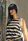 Window store mannequins Royalty Free Stock Photos