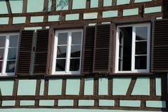 Window in Strasbourg Stock Photo