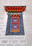 Window style in Potala palace Stock Photo