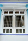 Window of The Sultan Ibrahim Jamek Mosque at Muar, Johor Stock Images