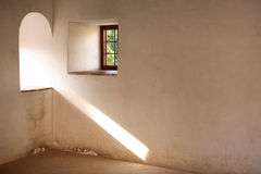 Window With Sunbeam Stock Photos