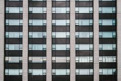 Window Symmetry in the Modern Architecture royalty free stock image