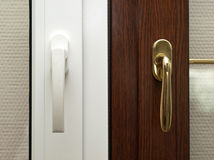 Window system handles. Stock Photography